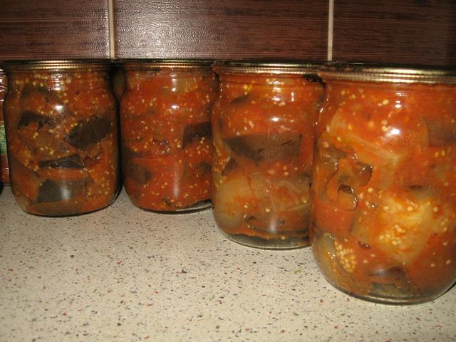 Рецепты баклажан маринованных на зиму с фото