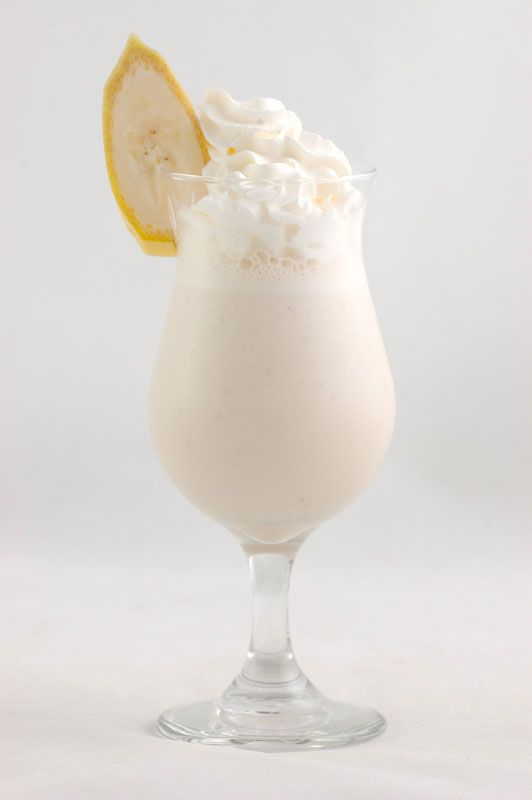 Как дома сделать банановый молочный коктейль